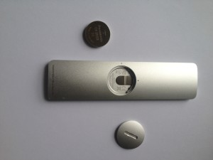 3-volt lithium button battery